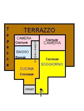 Продажа квартиры в Италии, город Скалея, улица Don Minzoni